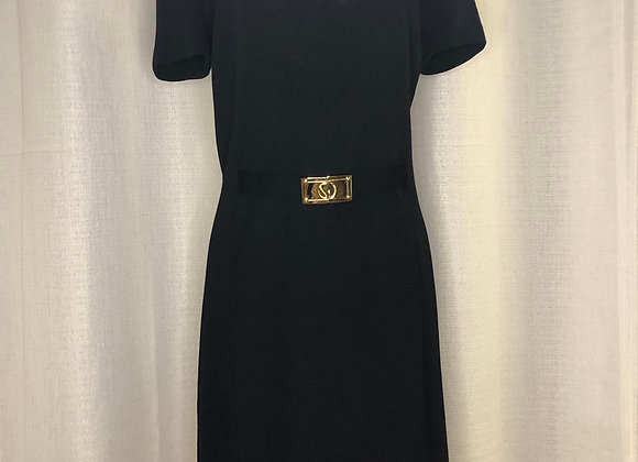 St. John Short Sleeve Knit Dress