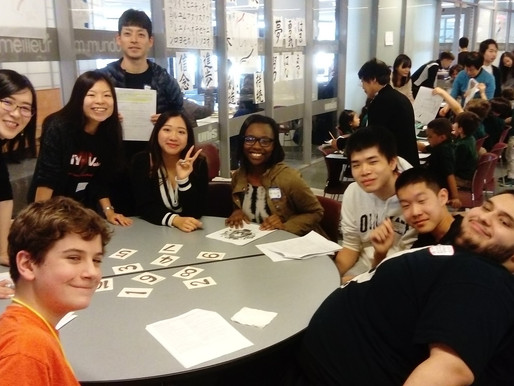 A Day at UNIS' Spring Festival Teaching Japanese Language Students from the Tri-State Area