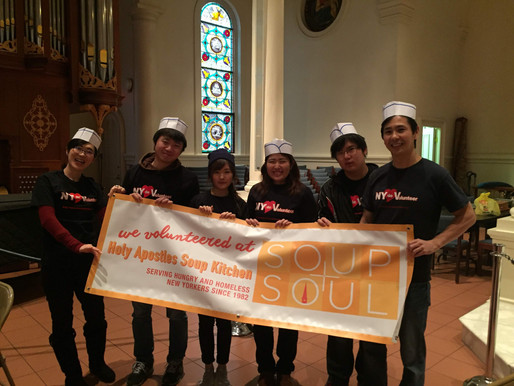 Ashinaga Students Help the Needy and Spread some Japanese Culture in NYC