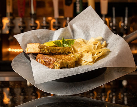 A-Town Tap Pesto Grilled Cheese