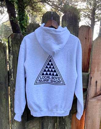 Local Boys- Adult Pullover Hoodie Light Heather Grey