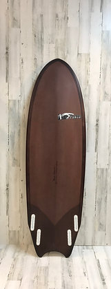 Ponto Surfboards-MoonTail Quad-5'11