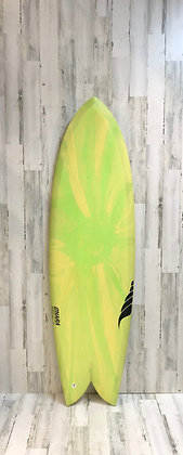 Solid Surfboards-The Throwback-Retro Twin-6'0