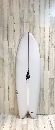 Solid Surfboards-The Throwback-Retro Twin-5'8