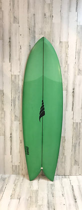 Solid Surfboards-The Throwback-Retro Twin-6'2