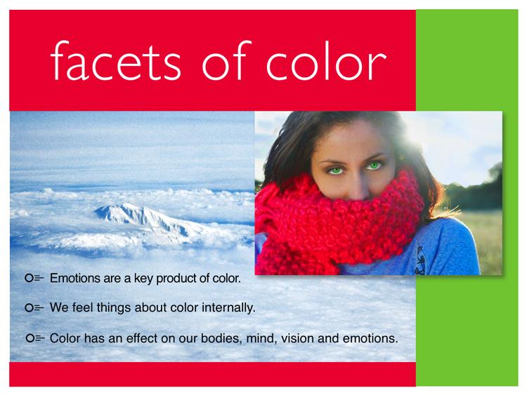 Our Color Universe