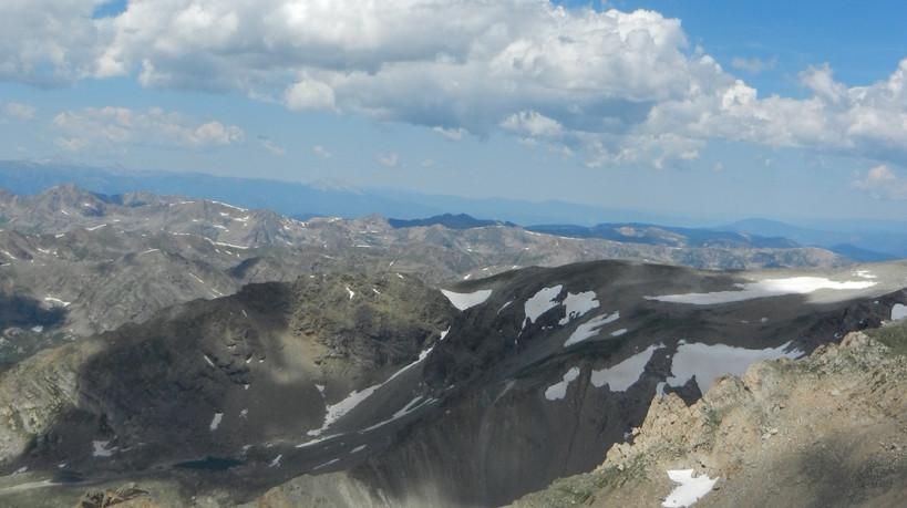 Climbing Mt. Elbert