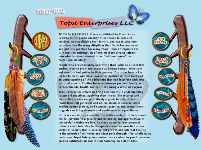 Topsi Enterprises Web page