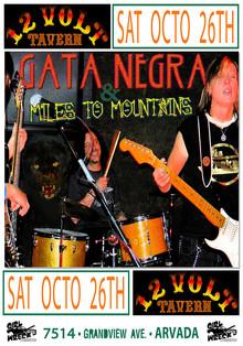 Gata Negra - Miles To Mountains