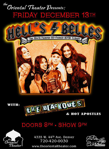 Hells Bells - The Blackouts -Hot Apostles