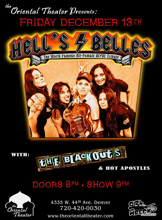 Hells Bells - The Blackouts -Hot Apostles
