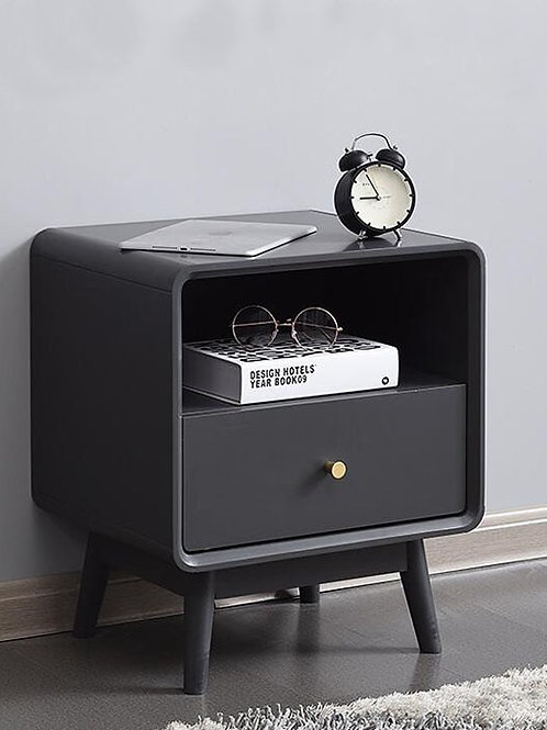 Solid Wood Bedside Table Nordic Home Simple Modern Nightstand Bedside Cabinet