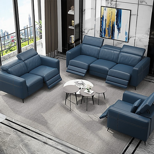 Living Room Sofa Set Corner Sofa Recliner Electric Couch Genuine Leather Sofas