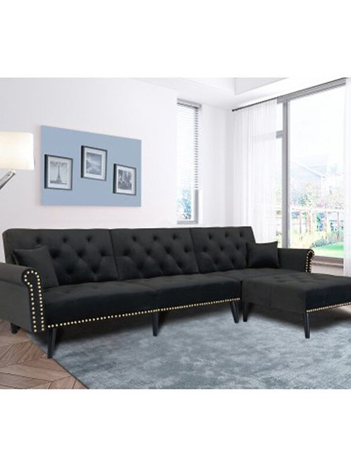 Modern Living Room Furniture Sofa Bed Set  3 Seats With Bed Sofa House Furniture