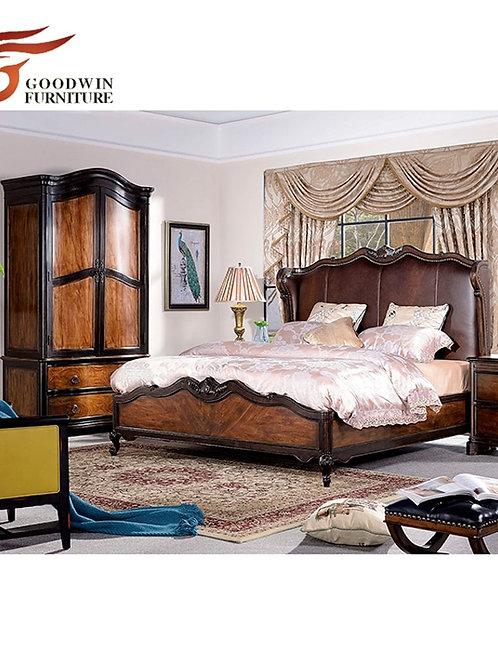Bedroom Furniture Set Wooden Double Bed Designs