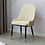 Thumbnail: Modern Bedroom Furniture Luxurious Dining Chairs Nordic Solid Wood Dining