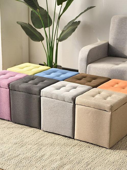 Adult Sofa Square Chair Artifact Box Furniture Storage Bench  Kids Furniture