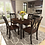 Thumbnail: 5-Piece Kitchen Chair Dining Table Set Kitchen Furnitures Modern Wooden Dining
