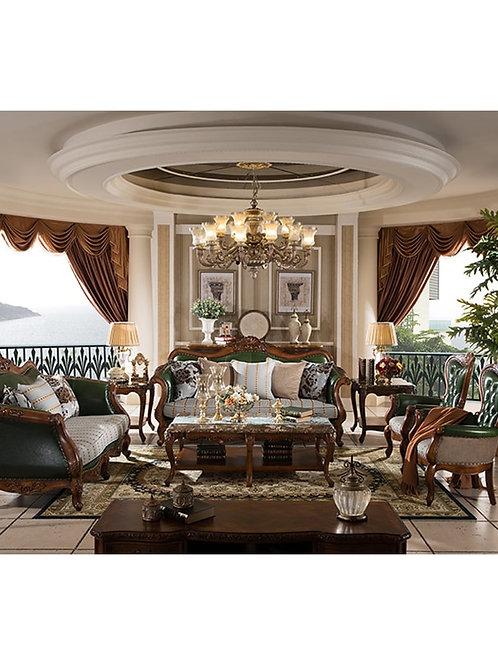 Wood Sofa Set Design for Living Room / Living Room Furniture Design GH207