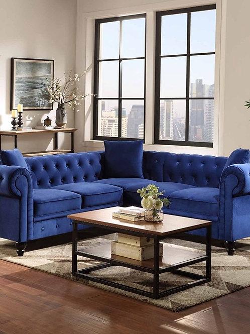 Modern Nordic Sofa Bed Set Velvet Sofa Combination Adjustable Backrest Apt