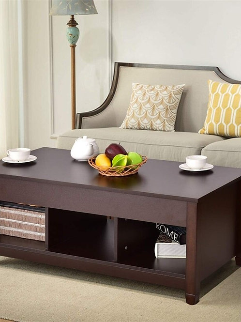 Lift Top Coffee Table With Hidden Storage Compartment Coffee Table  HW65716CF