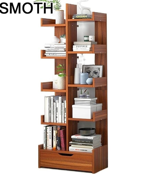 Decor Librero Madera Bureau Meuble Industrial Display Libreria Book Shelf Case