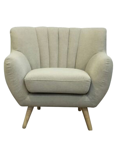 Lilly 1-Seater Lounge Chair - Beige