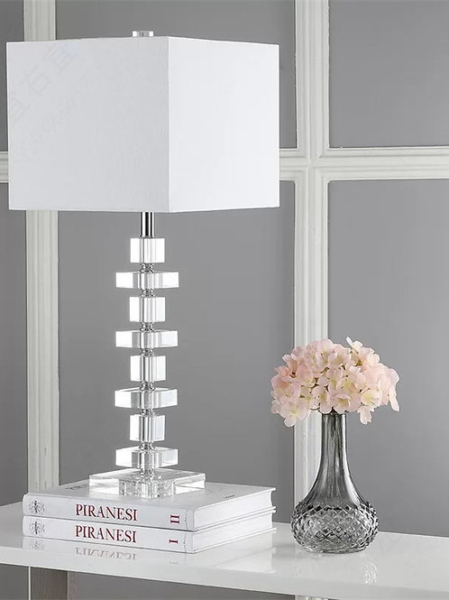 Modern LED Simple Personality Crystal Table Lamps for Living Room Bed Lamp
