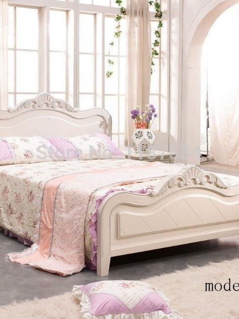 Modern  Furniture Bedroom Set Bed Wardrobe Nightstand Desk Bedroom Furniture Set
