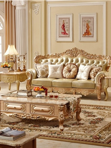 Living Room Sofas Luxury European Furniture