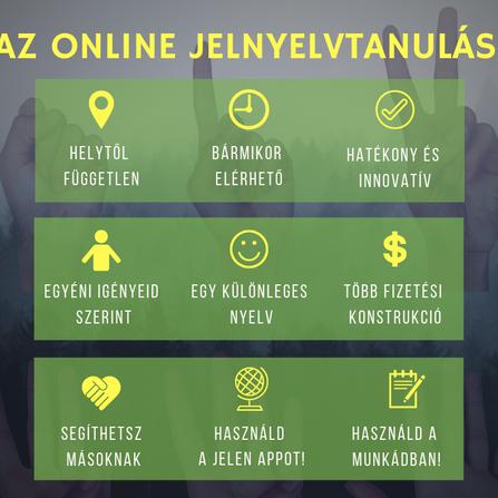 E-jelnyelv? Igen! Online jelnyelv kurzusok