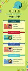 Jeleven online 2020 záró infógrafika