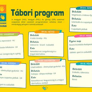 Ezekkel a programokkal várunk a nemzetközi jelnyelvi táborban