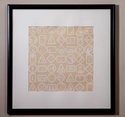 NightBears (framed print)