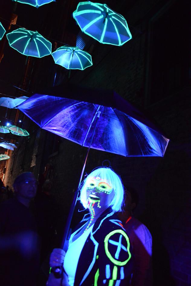 Glow Girls Pop-Up Parade