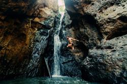 Inanna Sanctuary Costa Rica Jump