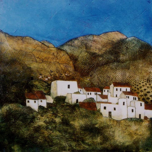Andalucian mountain village