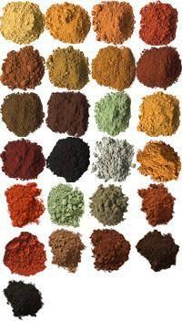 Facebook - Making earth pigments INSPIRA