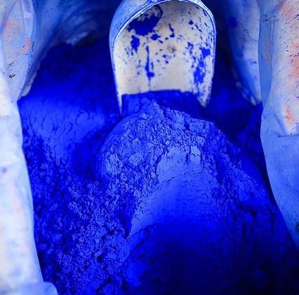 Facebook - Blue pigment Art journeys www
