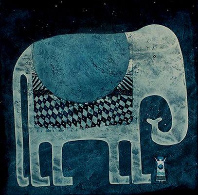 Big Blue Elephant - Rana Rodgers - www.ranapix.co.uk
