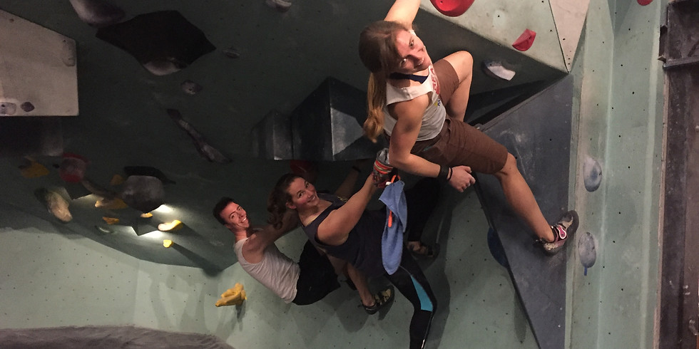 April Queer and Trans Climbing Night at SBP