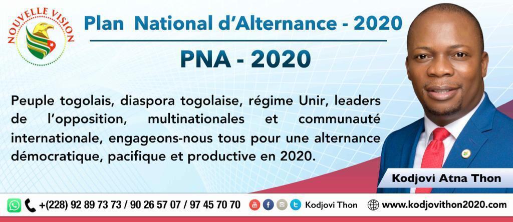 Le Programme National d'Alternance (PNA) de Kodjovi Thon