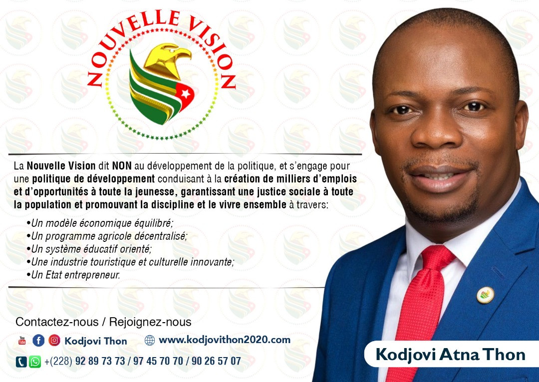La Nouvelle Vision de Kodjovi Thon