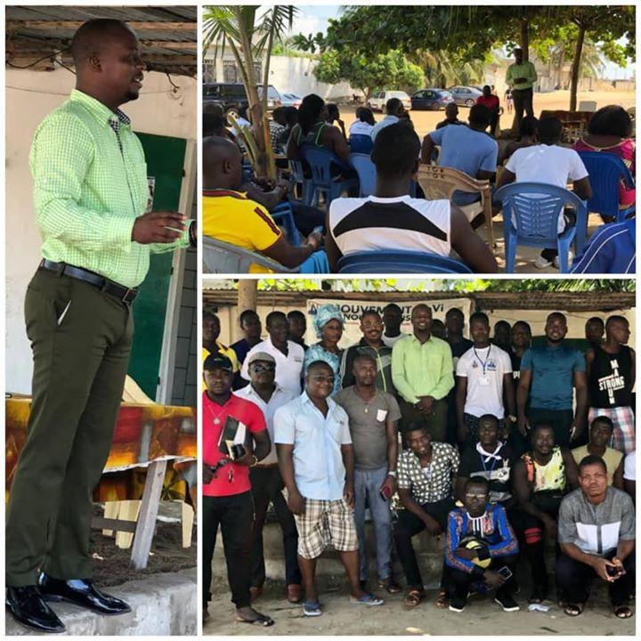 Dr. Thon rencontre la jeunesse à Devego