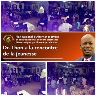 Dr. Thon rencontre la jeunesse à Tokoin Kodome