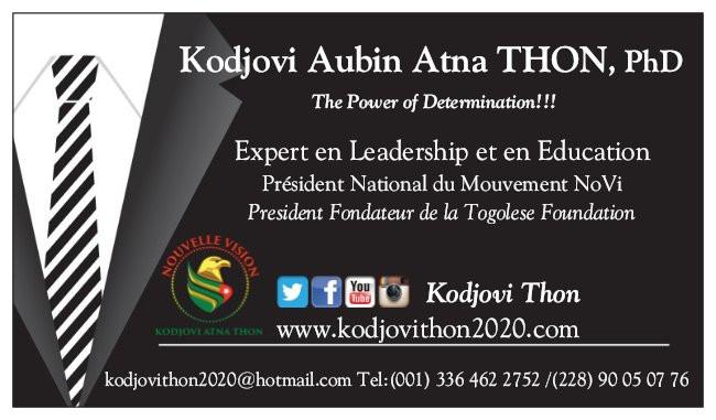 Contactez Kodjovi Thon