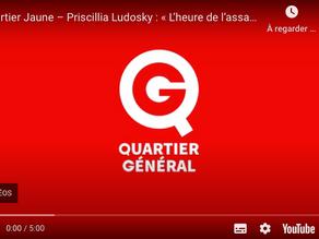 """""""Quartier Jaune - Priscillia Ludosky : « L'heure de l'assaut »"""