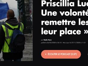 Priscillia Ludosky : « Une volonté de remettre les choses à leur place »
