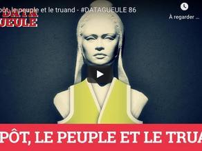 """""""L'impôt, le peuple et le truand"""" - #DATAGUEULE 86 - 08/02/2019"""