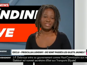 """EXCLU - Priscillia Ludosky, figure des gilets jaunes, dans ""Morandini Live"